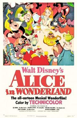 Disney's Alice in Wonderland poster
