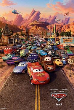 Disney's Cars poster