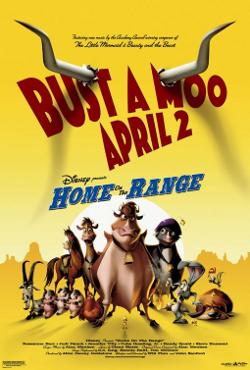Disney's Home on the Range poster