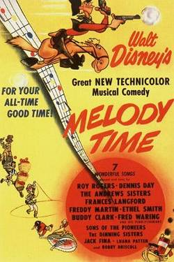 Disney's Melody Time poster