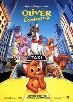 Disney's Oliver & Company poster