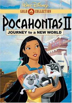 Disney's Pocahontas II: Journey to a New World poster