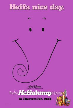 Disney's Pooh's Heffalump Movie poster