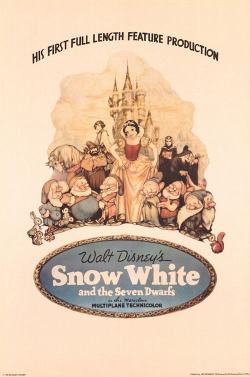 Disney's Snow White and the Seven Dwarfs poster