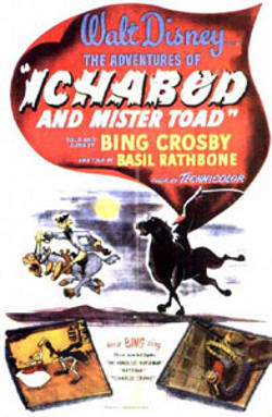 Disney's The Adventures of Ichabod and Mr. Toad poster