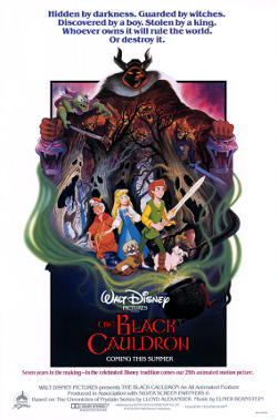 Disney's The Black Cauldron poster