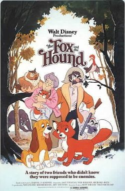 Disney's The Fox and the Hound poster