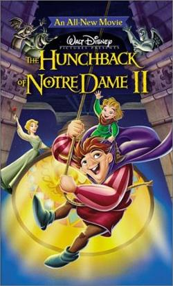 Disney's The Hunchback of Notre Dame II poster