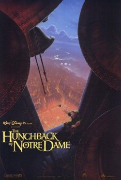 Disney's The Hunchback of Notre Dame poster