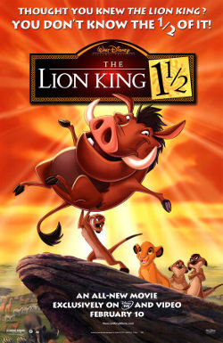 Disney's The Lion King 11/2 poster