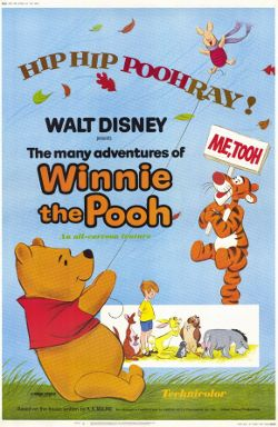 Disney's The Many Adventures of Winnie the Pooh poster