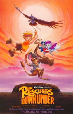 Disney's The Rescuers Down Under poster