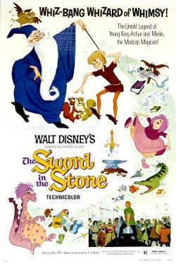 Disney's The Sword in the Stone poster